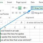 Cách xuống dòng trong Excel 2010 chuẩn xác