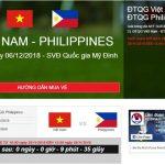 Hướng dẫn cách mua vé bóng đá online từ A đến Z